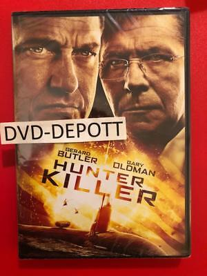 HUNTER KILLER DVD **AUTHENTIC DVD READ DESCRIPTION** New FAST Free Shipping