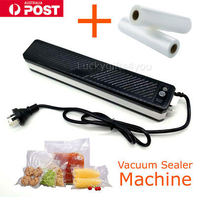 Vacuum Sealing Sealer System Packing Machine Household Food Storage Cryovac HOME