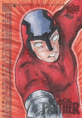 Black Panther, Sketch Card by Jamie Joslyn 1/1