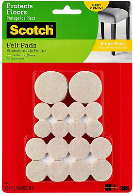 Felt Pads Value Pack Beige SP842 (Pack of 36)
