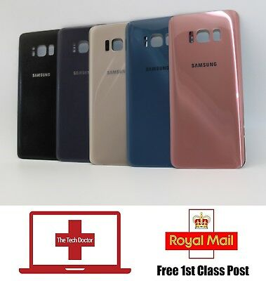 Samsung Galaxy S8 Back Rear Replacement Battery Cover G950 & Camera Lens