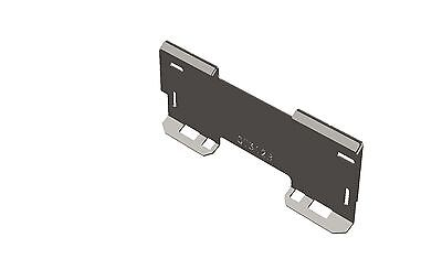 """Skid Steer Quick Attach Mount Plate 5/16"""" - QT312B - MADE IN THE USA"""