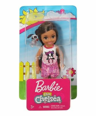 Barbie Club Chelsea Puppy Top Doll Brand New In Box Frl81