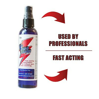 "Spray anestetico durante la procedura ""VASOCAINE"" 4OZ/120ml"