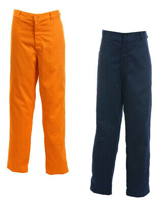 Orbit Hellas Mens FR Work Trousers Flame Retardant Proban Cotton Pants Workwear