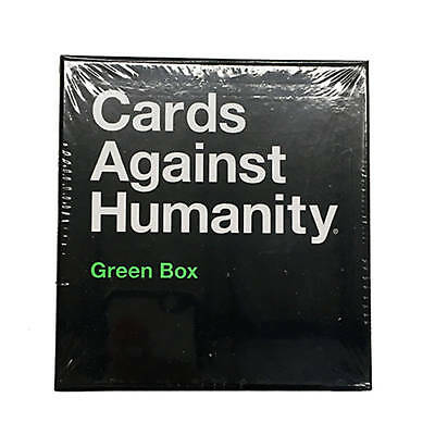 Cards Against Humanity Verde Scatola Expansion Pack