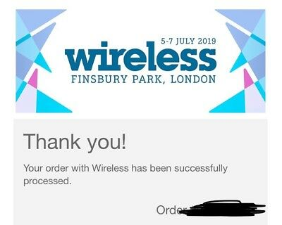 Wireless Festival Friday Ticket Single SOLD OUT 2019 headliner Cardi B
