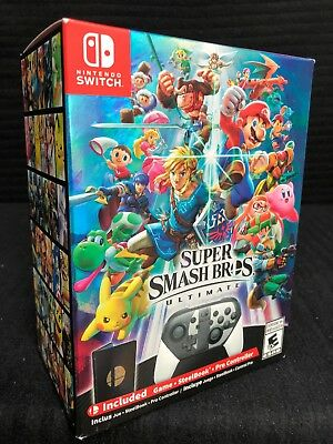 Super Smash Bros Ultimate Special Edition Nintendo Switch (Console Not Included)