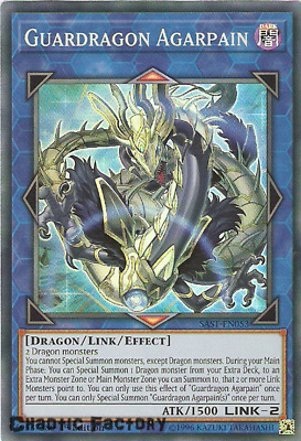 Yuigoh SAST-EN053 Guardragon Agarpain Super Rare 1st Edition NM