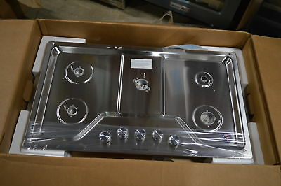 Kitchenaid Kcgs356ess 36 Stainless 5 Burner Gas Cooktop 20083 Mad