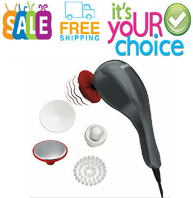 Handheld Massager Heat Therapy Machine Electric Full Body Muscle Relax Vibrating