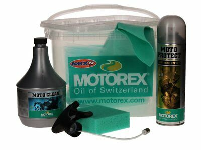 Motorex Motocare Kit In A Bucket