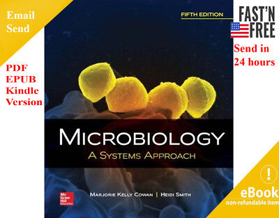 Microbiology A Systems Approach 5th, Marjorie Kelly Cowan Profes (See piture)