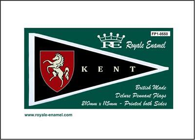 Royale Antenna Pennant Flag - County Of Kent - Fp1.0550