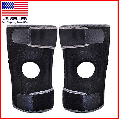 Knee Brace Support Compression Sleeve For Joint Pain Arthritis Relief 2X OR 1X