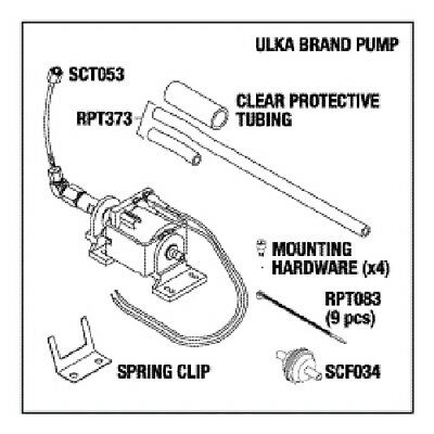 Pump Kit 2000 and 5000  ( SCP051 )