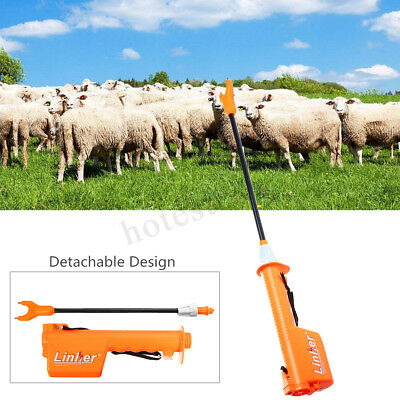 Rechargeable Electric Livestock Cattle Pig Prod Handle Animal Stock Prodder