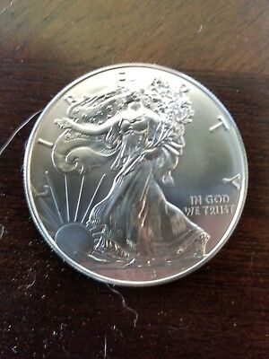 American Eagle Walker, 1 troy oz .999 Fine Silver Dollar Round