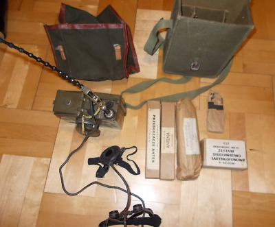Russian ARMY- Radio station R-126 with equipment/A 1407