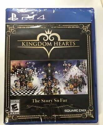Kingdom Hearts: The Story So Far PS4 1.5 + 2.5 Remix HD + 2.8. NEW. SEALED