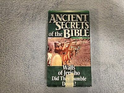 Ancient Secrets of the Bible: Walls of Jericho / Did They Tumble Down? - VHS