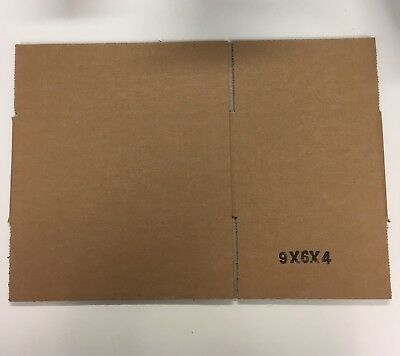 Cardboard Postage Postal Packaging Box Royal Mail Small Parcel 9 x 6 x 4""