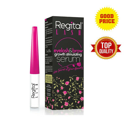 Regital Lash Eyelash EyeBrow Growth Long Serum Enhancer Thicker Biotebal 3ml