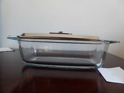 Glass Hostress Trolley Dish and Lid in very good used condition