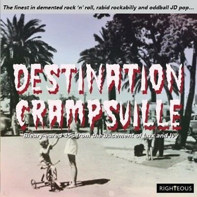 bfdb0ea51e9 Destination Crampsville  Finest In Demented Rock 50139299892 (CD Used Very  Good)