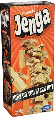 Brand New // Classic Jenga // How do you stack up?