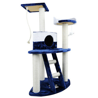 i.Pet Cat Scratching Tree Gym House Scratcher Pole Furniture Toy Medium 120cm
