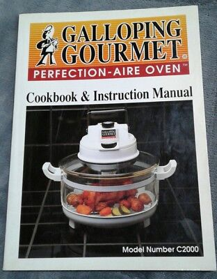 Galloping gourmet instruction manual graham kerr cookbook.