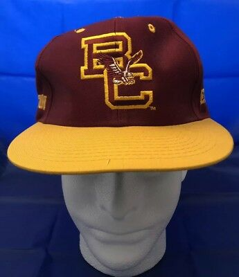 cheap for discount 63ac9 4c1c8 VTG Boston College Eagles Snapback Hat BC NCAA 1990s One Size Fits All NWOT