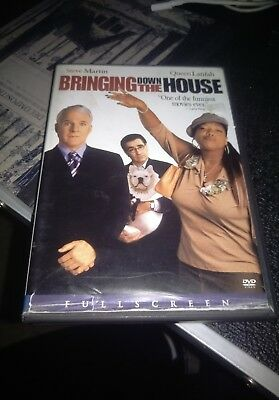 Bringing Down the House DVD Queen Latifah Steve Martin comedy good condition