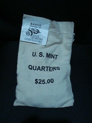 Us Mint Bag 2005-D Kansas State Uncirculated Quarters