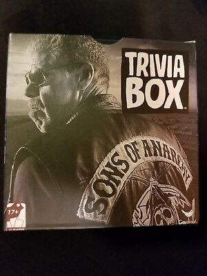 New! Trivia Box Sons Of Anarchy Game