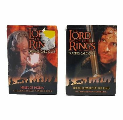 Lord of the Rings Trading Card Game (Set of 2)