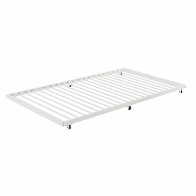 Twin Roll Out Trundle Bed Frame White 12129 Picclick