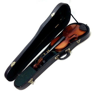 Vintage 1/4 Size Chinese Peking Violin in Case