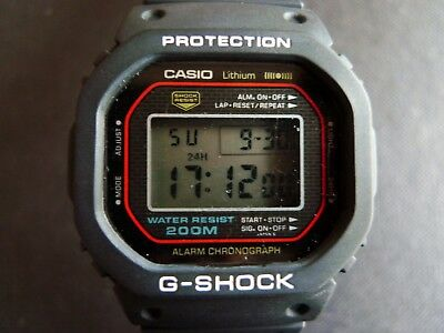 big sale e071e 45395 VINTAGE 1983 CASIO the First G-Shock DW-5000C Module 240 Great Working  Condition