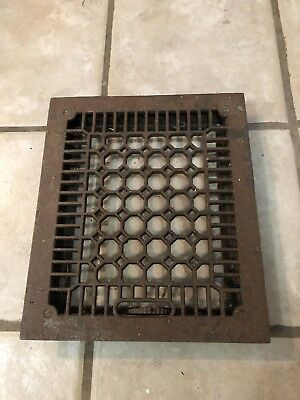 Vintage Original Metal Heat Air Register Wall Floor Grate Vent- Item # 1