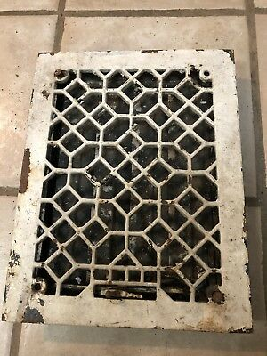 Vintage Original Metal Heat Air Register Wall Floor Grate Vent- Item # 3