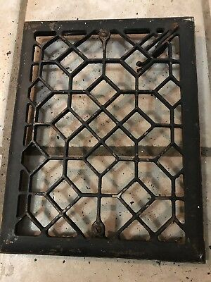 Vintage Original Metal Heat Air Register Wall Floor Grate Vent- Item # 4