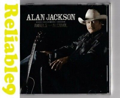Alan Jackson - Angels and Alcohol CD Sealed - 2015 Sony - Made in Australia
