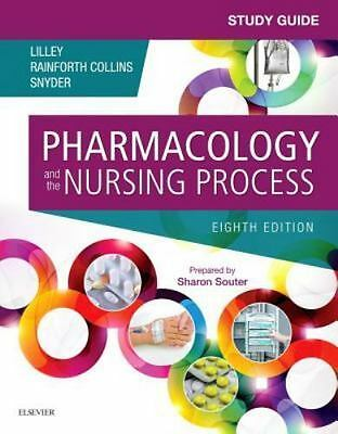 【paperback】Study Guide for Pharmacology and the Nursing Process,8 edition