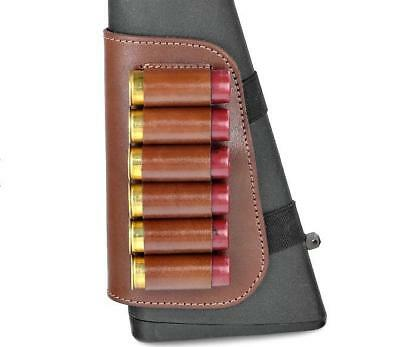 XD9 100/% Leather COMBO Rifle//Shotgun Cartridge Holder Pouch Belt Ammo 12 Shells