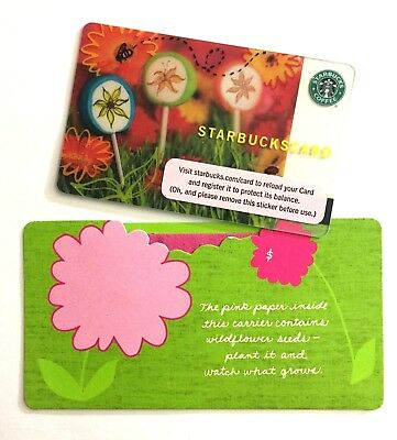 Starbucks 2006 Lollipops Card With Matching Sleeve NEW