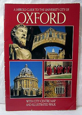 Vintage Jarrold Guide To The University City Of Oxford England 1997 Uk History