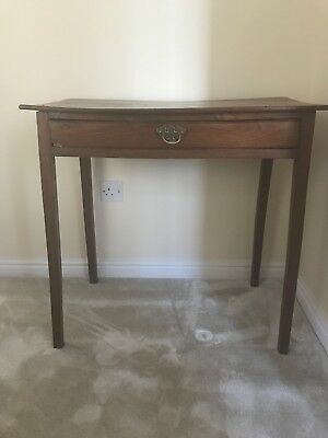 Antique Georgian Oak Side Table