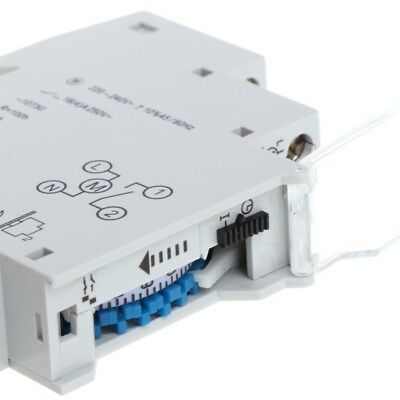 Mechanical 24 Hours Programmable Din Rail Timer Switch Relay AC 16A 110-240V New